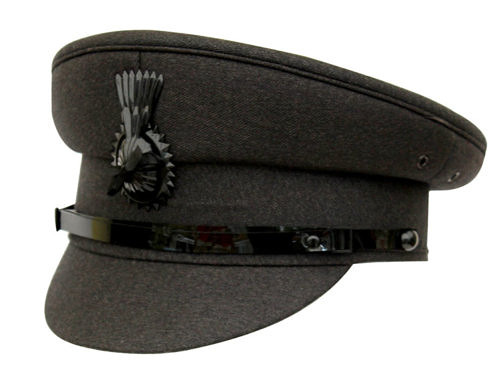 Light Grey Chauffeurs Cap - Denton Hats b8166d8ed21a